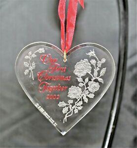"Hallmark Keepsake Ornament ""Our First Christmas Together ..."