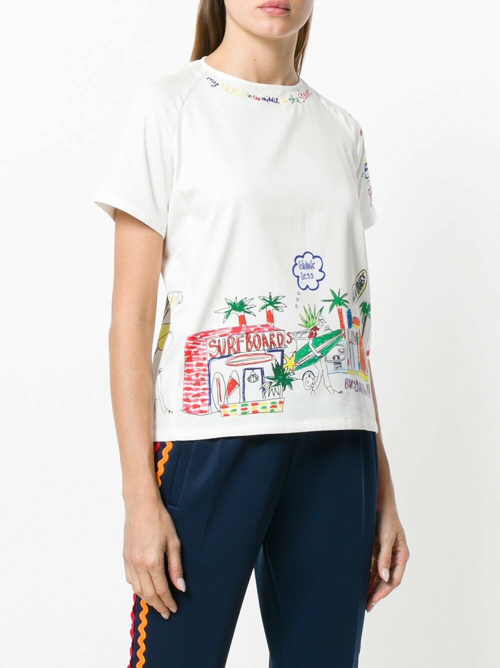 Mira Mikati Summer Top Größe UK 8