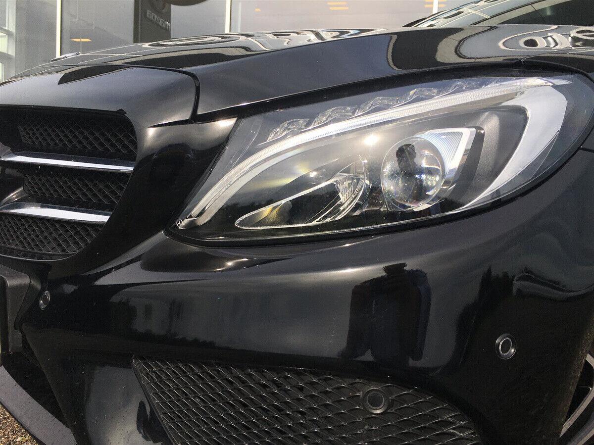 Mercedes C250 2,0 AMG Line stc. aut. - billede 1