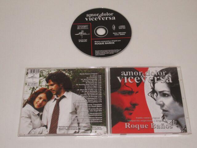 Amor, Dolor & VICEVERSA/ SOUNDTRACK/ Roque Banos (Saimel 8427328884341) CD Album