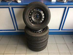 Satz-Stahlfelgen-MIT-Winterreifen-Toyota-Avensis-Nokian-DOT-0414-205-60R16