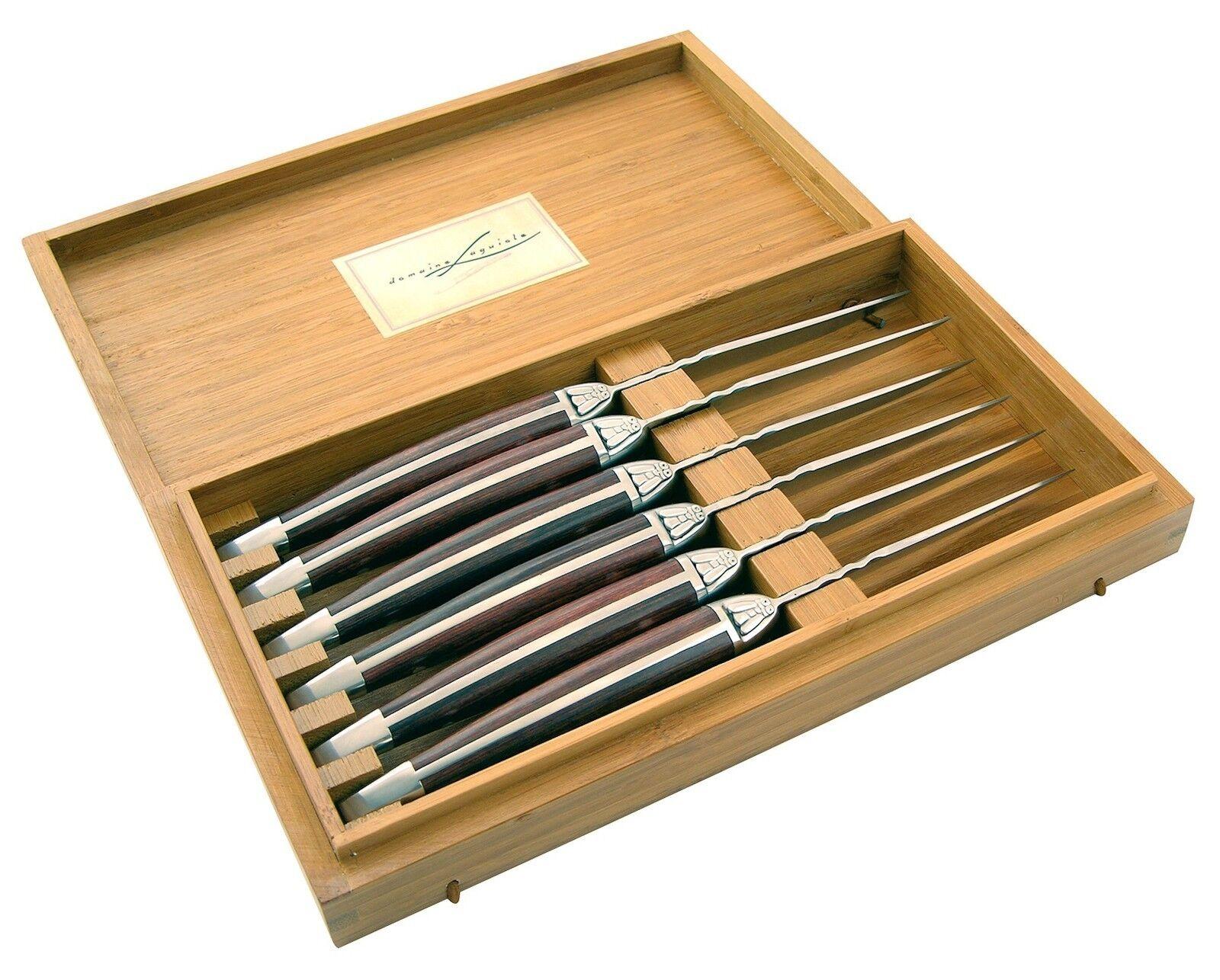 Set 6 coltelli da bistecca coltello per carne LAGUIOLE idea regalo cod 2024