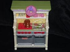 Fisher Price Loving Family Dollhouse Christmas Kitchen Oven Stove Tea Pot