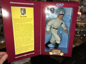 """Ty Cobb Cooperstown Collection Kenner Starting Lineup 12"""" Figure Doll MIB A"""