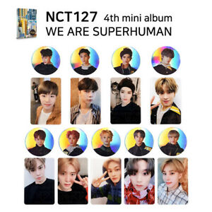 NCT-127-4th-mini-album-SUPER-HUMAN-Official-Photocard-Member-amp-SET