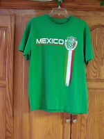 Mens Simply For Sports Kelly Green Mexico Short Sleeve T-shirt Size Medium