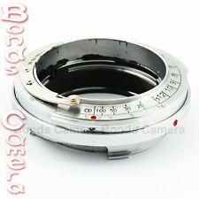 Contax Rangefinder CRF RF Lens to Leica M Mount 6-bit Adapter Ring M8 M9 M9P