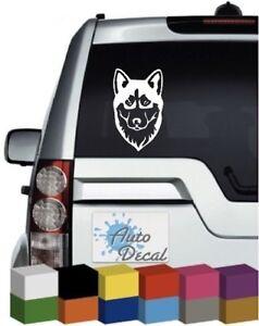 Mister Petlife Husky Sticker Vinyl Auto Window Siberian