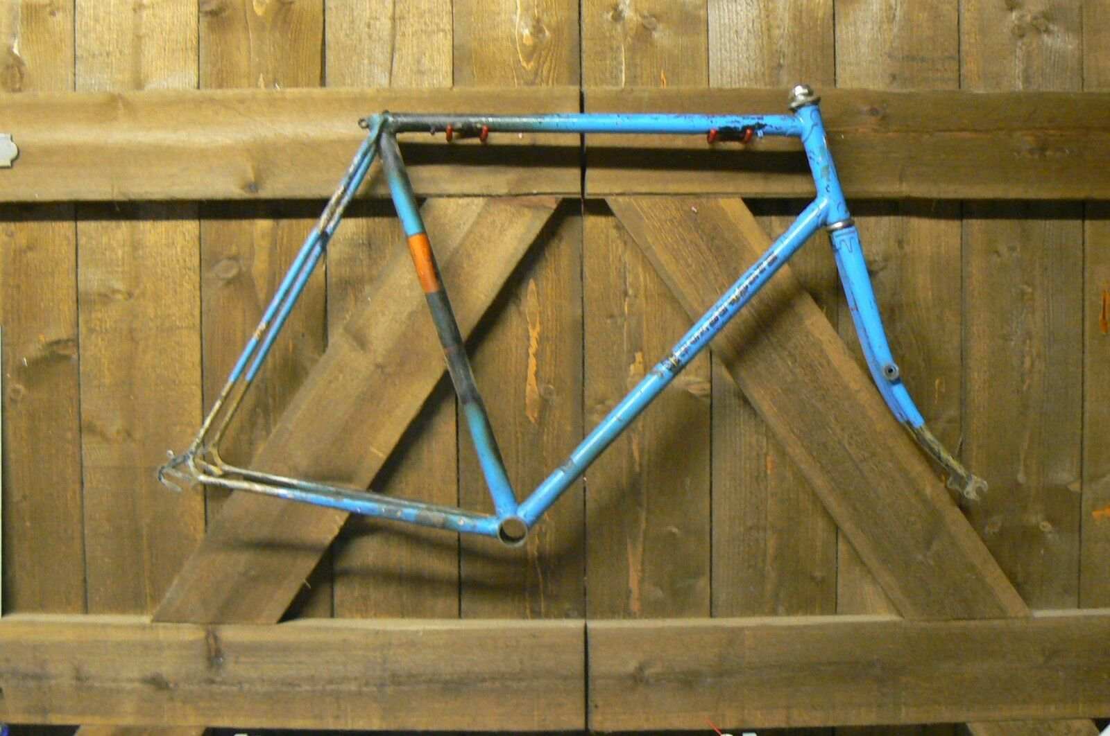 1950 HOLDSWORTH CYCLONE classic lightweight Frame and Forks for restoration