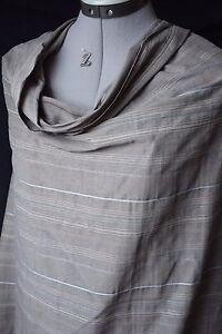 Darel-Ravissante-toile-rayee-coton-polyester-beige-sable-bleu-celadon