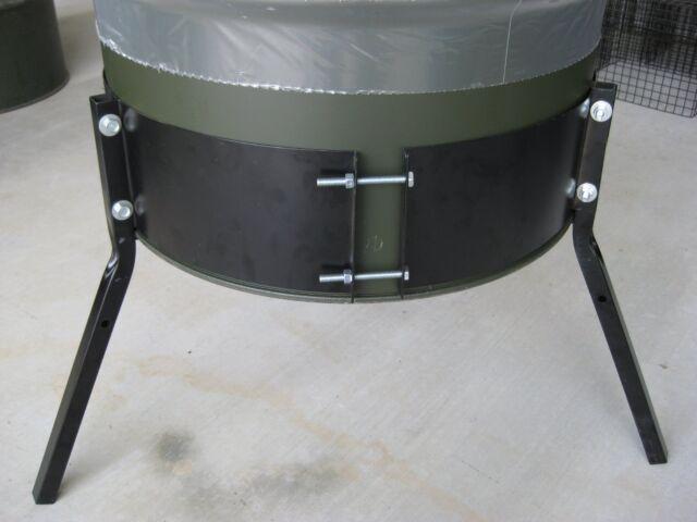 Plastic Deer Feeder Funnel for 55 Gallon Drum