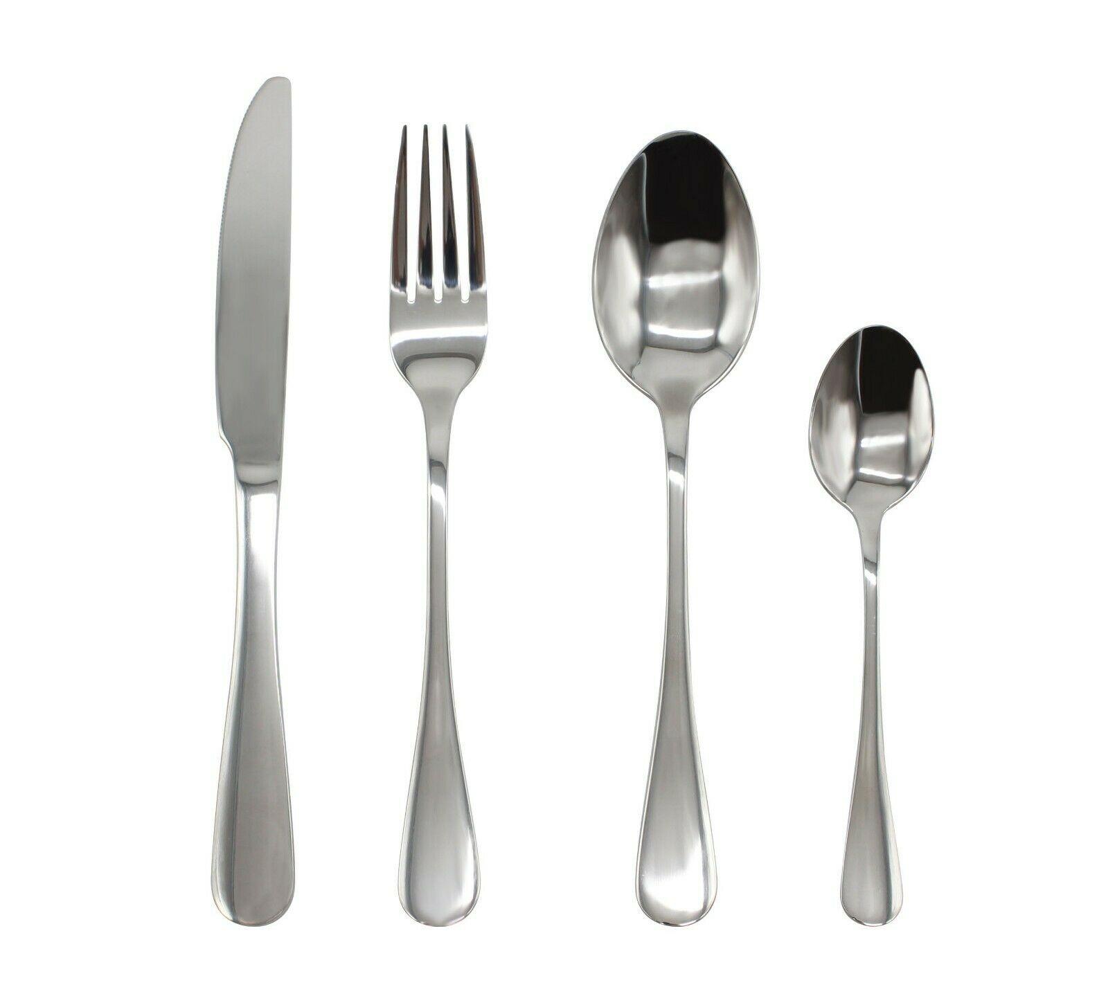 Stainless Steel Cutlery Sets 162432 piece Set Wedding Party Canteen Wholesale