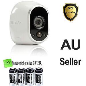 12X Panasonic CR123A Battery Netgear Arlo Security Camera VMS3330 3430 3230 3310