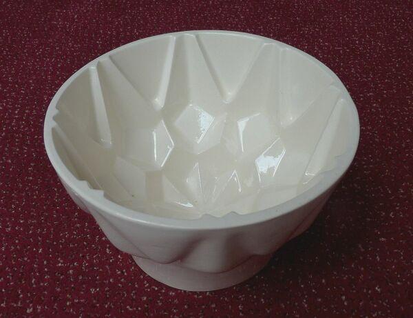 Alte Keramik Puddingform Backform Art Déco Aspik Sülze Vintage Top Ø Ca. 17,5 Cm Direktverkaufspreis