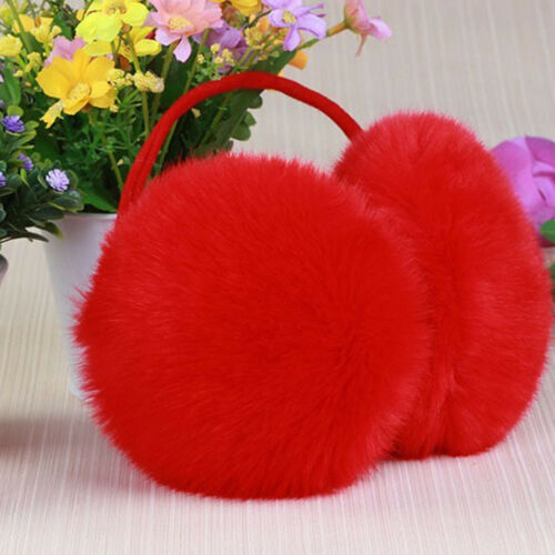 Earmuffs For Women Imitation Rabbit Fur Winter Earmuff Ear Warmer Ear Cover New