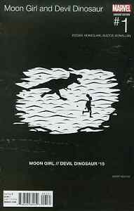 Luna-Nina-amp-Diablo-Dinosaurio-1-Veregge-Hip-Hop-Variante-NM-1st-Lunella