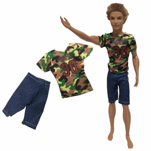 Ken abiti BARBIE compatibile-bambole la raccolta vestiti accessori Set uomini