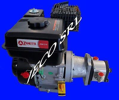 Punzonatrice idraulica per lamiera con pompa idraulica in valigetta 10T