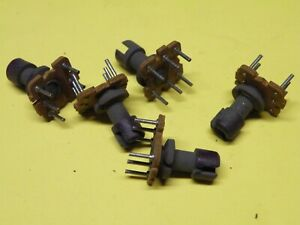 5 Pcs  Miniature 6 Pin Coil Former Bobbin for Transformers Coils etc # EC01