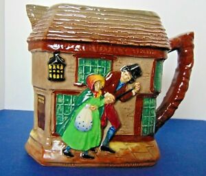 """Royal Doulton Dickens """"The Old Curiosity Shop """" Pitcher 800ml  Black 'A' 1939-55"""