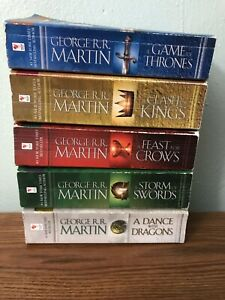 Game of thrones complete book collection