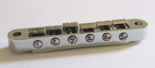 Gibson USA Nashville Tune-O-Matic Bridge Chrome Les Paul SG ES