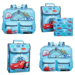 2ce784c0bd6 Image is loading Disney-Store-Cars-3-Lightning-McQueen-Backpack-amp-