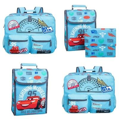 Disney Store Cars 3 Lightning Mcqueen School Backpack