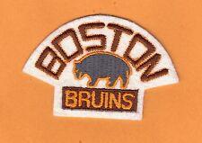 BOSTON BRUINS 1929 LOGO JERSEY SHOULDER JACKET PATCH IRON ON WINTER CLASSIC LOGO