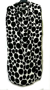 Polka-Dots-Cowlneck-Dress