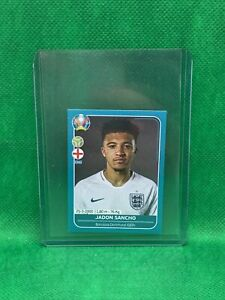 JADON-SANCHO-ENGLAND-ROOKIE-Sticker-RC-ENG-27-2020-PANINI-EURO-CUP-MINT