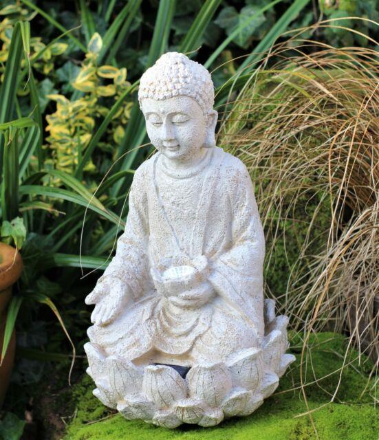 Praying Buddha Art Statue Outdoor, Zen Garden Sculptures