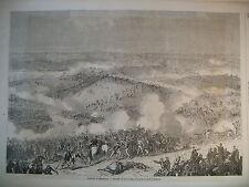 AMERIQUE GUERRE BATAILLE BULL-RUN CHATEAUX RIBEAUPIERRE HAUT-RHIN GRAVURES 1861