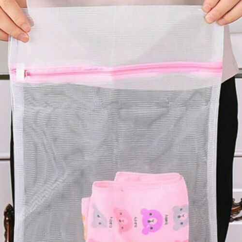 3 Size Mesh Laundry Bags  Small Large Wash Bag for Bra Delicates xk j