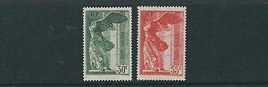FRANCE 1937 LOUVRE set  (B66-67) VF MLH/MNH (B66 is MNH B67 is MLH)
