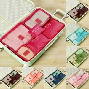 6Pcs-Waterproof-Travel-Storage-Bags-Clothes-Packing-Cube-Luggage-Organizer-Pouch