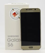 OPEN BOX- Samsung Galaxy S6 Duos SM-G920FD Gold (FACTORY UNLOCKED), Dual Sim