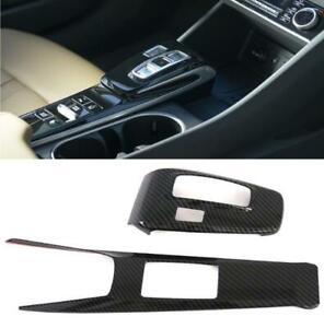 ABS Carbon Inner Gear Box Pancel Frame Cover Trim For Hyundai Sonata DN8 2019-20