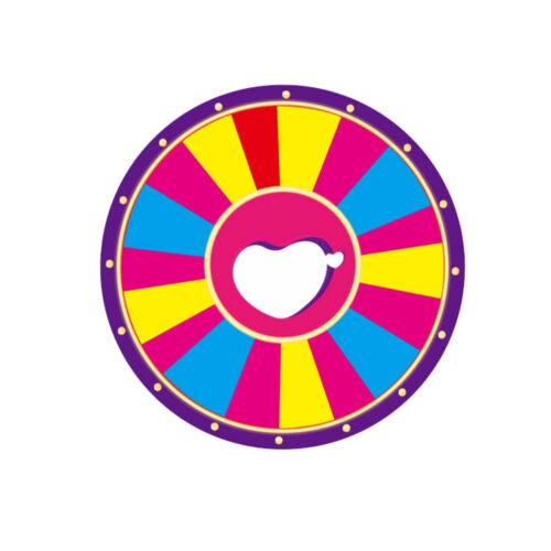 24 Glücksrad Spielzeug Farbe Rad Lotteriespiele Vermögen Wortspiele Verkauf Spielzeug