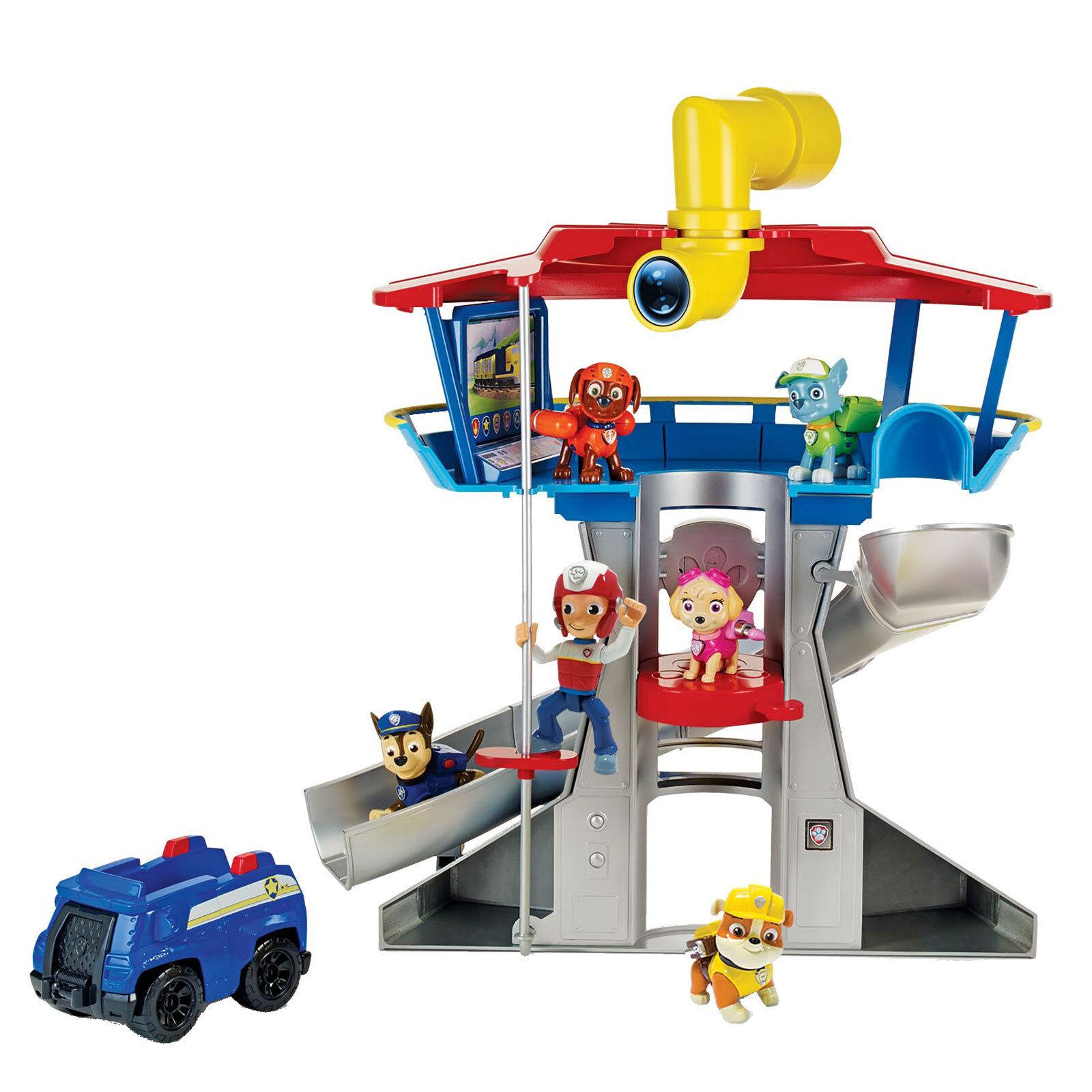 PAW PATROL Spielset Lookout Headquarter Spielfigur Actionfigur Kinder Spielzeug