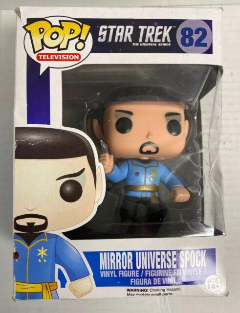 Funko Pop Television 82 Star Trek Mirror Universe Spock Previews Exclusive