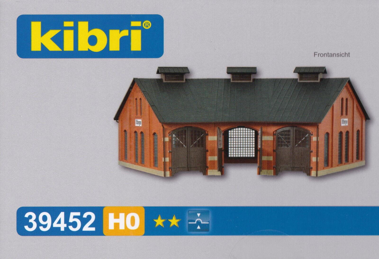 Kibri 39452 - Spur H0 - Ringlokschuppen Ottbergen - dreiständig - Lokschuppen  | eine breite Palette von Produkten