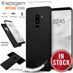 huge discount 59805 a2c1b Details about Galaxy S9/Plus S8 case Genuine SPIGEN Air Skin ULTRA-THIN  Soft Cover for Samsung