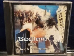 Bedlam - Shock Threatment CD prozak madness mastamind natas lavel horrorcore kgp