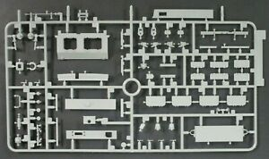 DRAGON-1-35-Scale-Pz-Kpfw-III-5cm-Ausf-H-Parts-Tree-V-from-Kit-No-6642