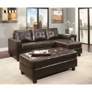 Fine Details About Claremont Leather Sofa With Reversible Chaise Sectional 136532 Yg Ks884 Es Machost Co Dining Chair Design Ideas Machostcouk
