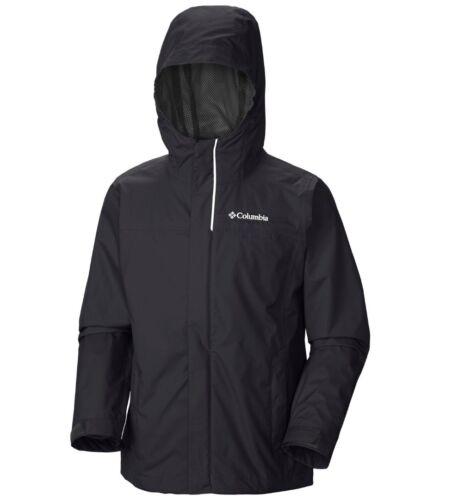 "New Boys Columbia /""Watertight/"" Omni-Tech Waterproof 360° Reflective Rain Jacket"