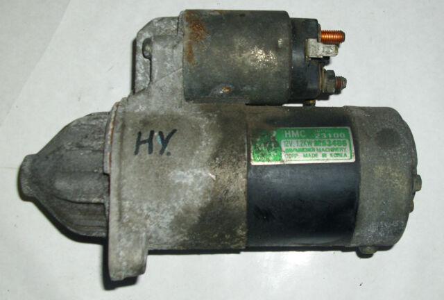 Anlasser 3610023100 M53486 Hyundai Lantra J2 Bj.98–00
