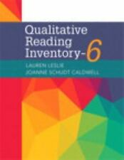 Qualitative Reading Inventory-6, with Enhanced Pearson EText -- Access Card Package by JoAnne Schudt Caldwell and Lauren Leslie (2016, Spiral / Mixed Media)