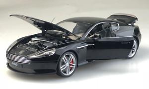Compra calidad 100% autentica Welly FX 1 18 modelos de aleación aleación aleación Aston Martin DB9 Die Casting Modelo Negro Y blancoo  clásico atemporal